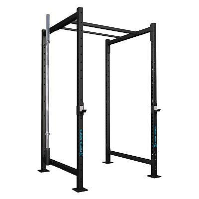 Power Rack Stazione Allenamento Palestra Push Up Attrezzo Bilanciere Pesi Set 5