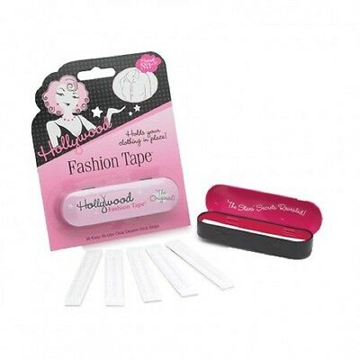 Hollywood Fashion Tape - 36 clear Double Stick Strips