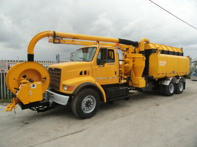 1997 Safe Jet Vac Clean Earth VACTOR VAC-CON VACUUM TRUCK HYDRO EXCAVATOR SEWER