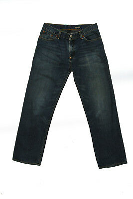 Polo Ralph Lauren Youth Blue Straight Leg Denim Faded  Jeans Size 20 (XL) W31