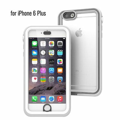 CATALYST CASE for iPHONE 6 Plus - WHITE & MIST GRAY