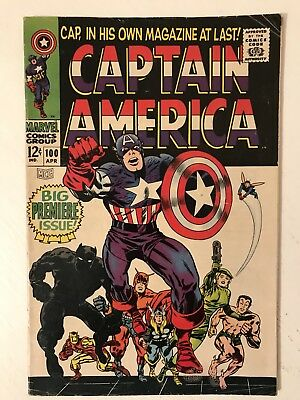 Captain America 100 ** Free Tracked Delivery **
