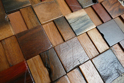 Wooden Wall Tiles, Old Ship Mosaic, Decorative Wall Tiles, Reclaimed Wood, Decor