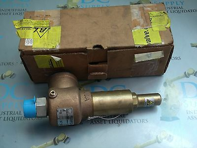 "Conbraco 521Febjmaa0090 Size 1"" 94 Gpm 90 Psi Safety Relief Valve Nib"