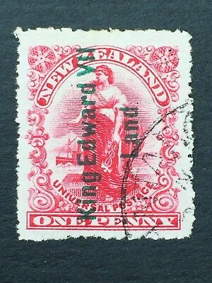 NEW ZEALAND, 1908, A1, KING EDWARD V11 LAND, Used