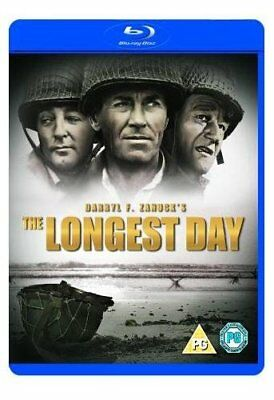 The Longest Day [Blu-ray] [1962] [DVD][Region 2]