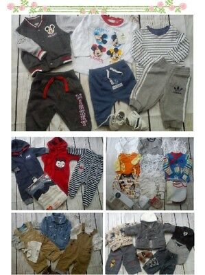 95x WINTER NEW USED BUNDLE OUTFITS BABY BOY 0/3 M 3/6M PHOTOS IN DESCRIPTION(11)