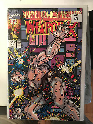 MARVEL COMICS PRESENTS #82 NM 1st Print Weapon X Wolverine Barry Windsor Smith