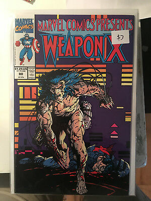 MARVEL COMICS PRESENTS #80 NM 1st Print Weapon X Wolverine Barry Windsor Smith
