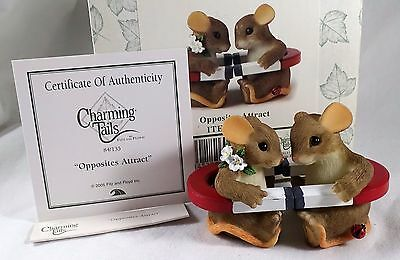 Charming Tails Figurine Opposites Attract magnets