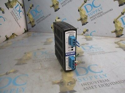 Automation Direct Rhino Psb24-060S-P2.5 A 100-240 Vac 24 Vdc Power Supply Module