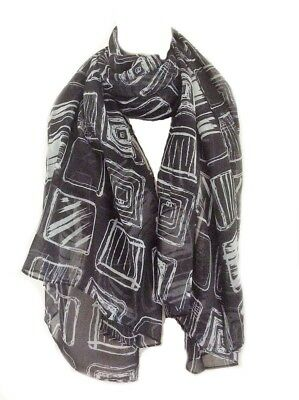White Duck Scarf Blue Grey Ducks Scarves Gift Present Quintessential Ladies New