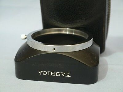 YASHICA  LENS HOOD - With Case - Made in Japan Photography
