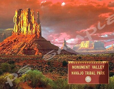 Arizona - MONUMENT VALLEY #1 - Travel Souvenir Flexible Fridge MAGNET