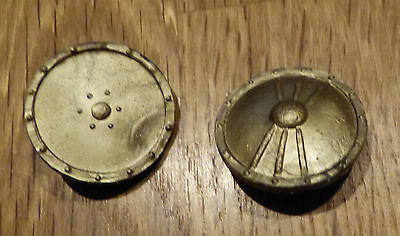 2 Timpo Viking Shields, Viking Shield, Gold