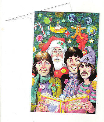 Beatles Christmas Card Designed By William Stout For The Beatles Christmas Book.