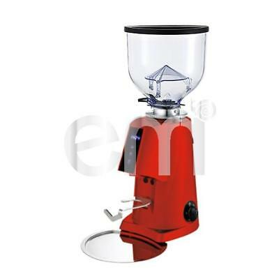 Imperia - Fiorenzato F4 E Nano Professional Espresso Coffee Grinder Digital Red
