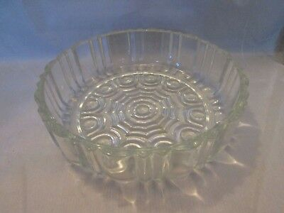 Anchor Hocking Old Cafe Candy Dish NO LID Clear Glass