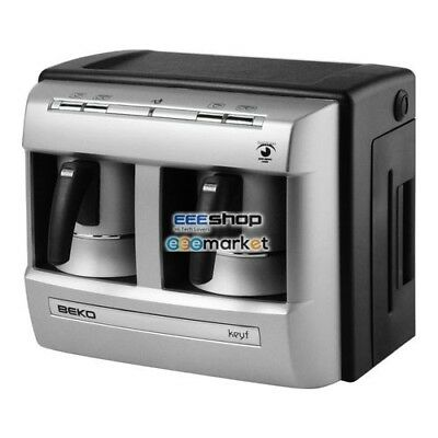 BEKO BKK 2113 Drip coffee maker 1L Silver coffee maker Espresso Machine BKK 2113