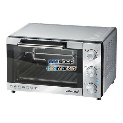 STEBA KB 23 Electric 23L 1500W Grey Grill and bake oven 43000