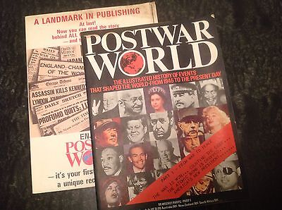 Postwar World magazine No 1 1975 FIRST ISSUE - From War to Peace