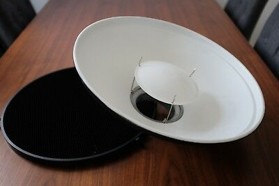 Photo Studio 40cm Beauty dish with honeycomb / Bowens S type fitting / in London