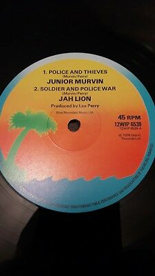 Jah Lion / Upsetters / Junior Murvin. Police And Thieves / Soldier & Police War