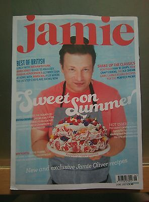 Jamie Oliver Recipes cook book/magazine Issue June 2017 *NEW* FREE UK POST
