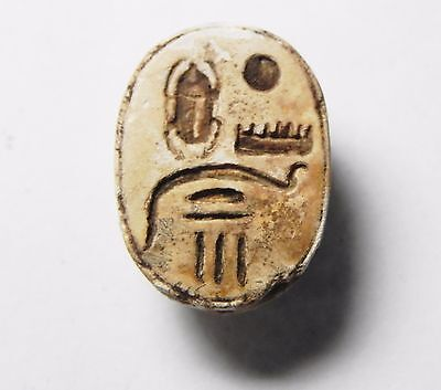 Zurqieh -Tat120-  Ancient Egypt, New Kingdom. Thutmose Iv Scarab 1400 B.c