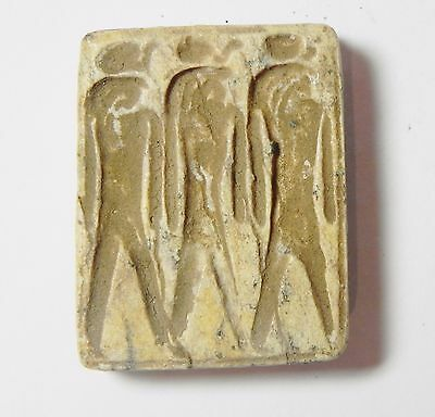 Zurqieh - Q314- Ancient Egypt, New Kingdom. Stone Plaque 1400 B.c