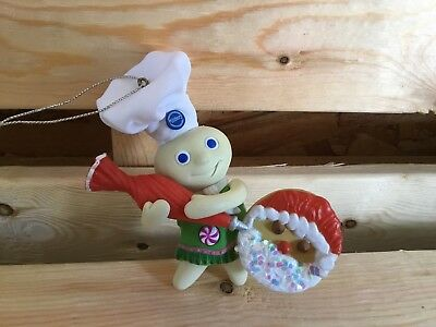 Pillsbury Doughboy Christmas ornament- laughing  - Great Gift-2011 General Mills
