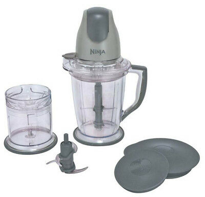 Ninja QB900B Master Prep Blender Mixer Food Processor (Certified Refurbished)