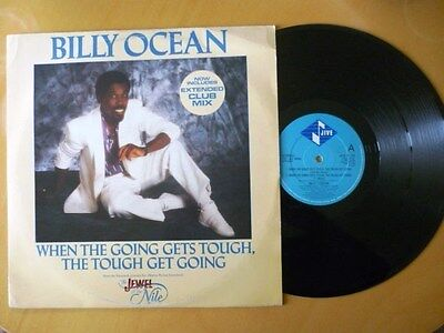 """Billy Ocean = When The Going Gets Tough,the Tough Get Going - Excellent12"""" Vinyl"""