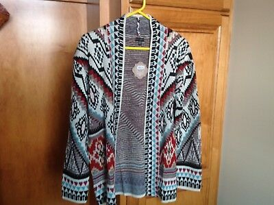 The Good Bead Coco & Carmen Nomad Blanket Coat Cardigan Sweater S/m