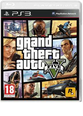 Grand Theft Auto 5 Gta V Ps3 Brand New Fast Delivery