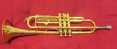 A Vintage Unnamed Trumpet! Basic restoration performed. Checkout the pics
