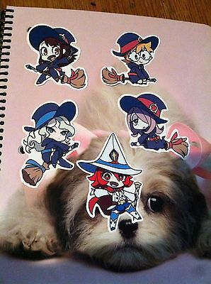 Little Witch Academia Chibi Stickers