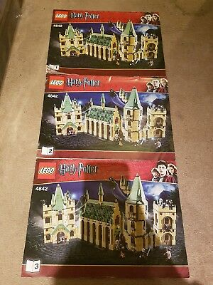 Lego 4842 Harry Potter - instruction manuals only