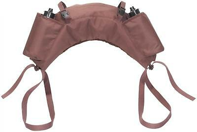 Busse Banana Bag 2 Drinking Bottles Bananas Saddle Bag Pack Bag Dark Brown