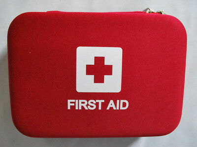 106 Piece Emergency First Aid Supplies Kit Survival Medical Health Carry Case
