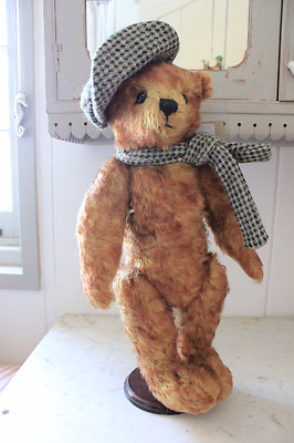 Rare Sir Norman Wisdom Merrythought Teddy Bear - Mint