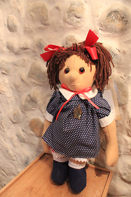 Mint Condition Limited Edition Merrythought Polly Dolly Girl Doll