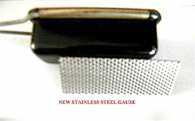 For Mamod Meths Burner.  Replacement Gauze, Stainless Steel. Not Burner