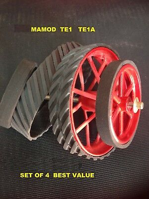 Mamod Tyres Suit TE1 TE1A  Traction Engine  set of 4