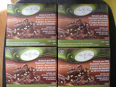Ideal Protein 4 Boxes Of 7  Almond And Milk Chocolate Bars