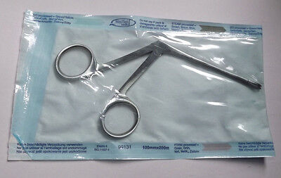 Hartman Spoon Shaped Alligator Crocdile Forceps Surgical Piercing Medical 3.5""