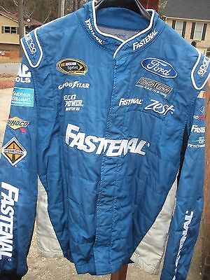 Ricky Stenhouse Jr./fastenal /roush  Race Used Pit Crew Firesuit,free Shipping