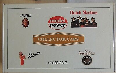 New Model Power N Gauge Cigar Collector Cars Set
