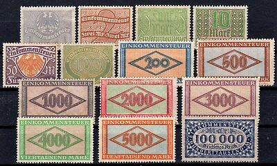 German Reich - Incomming Tax Revenue Collection With No Gum