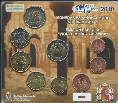SET Oficial ESPAÑA World money Fair Berlin 2010
